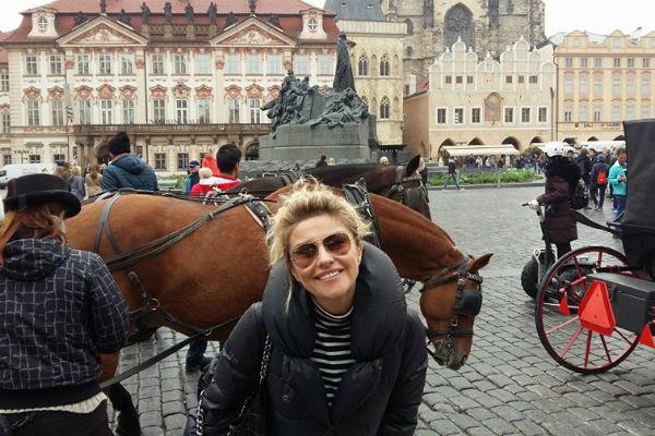 Недавно актриса ездила в Карловы Вары, чтобы заняться здоровьем