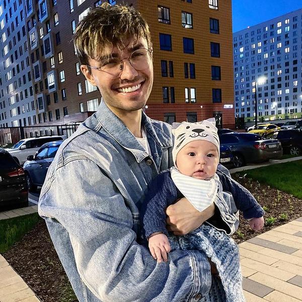 Алан с сыном