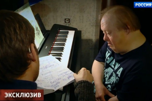 Борис Корчевников в гостях у сына Ии Саввиной