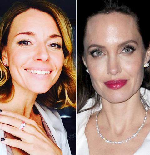 Любовь Толкалина и Анджелина Джоли