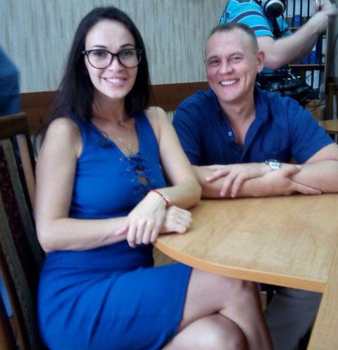 Степан Меньщиков с Евгенией Шамаевой