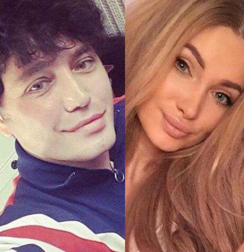 Рустам Солнцев и Евгения Феофилактова