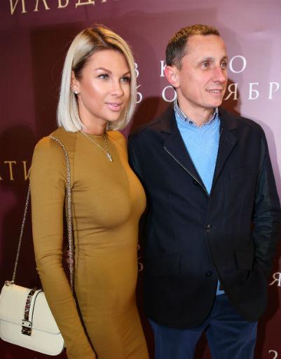 Вадим Галыгин с женой
