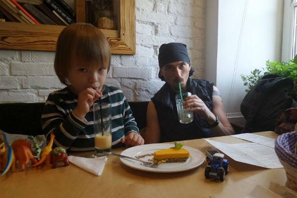 Игорь Тальков-младший вместе с сыном