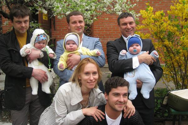 В 2011-м Мария Болтнева стала мамой тройни