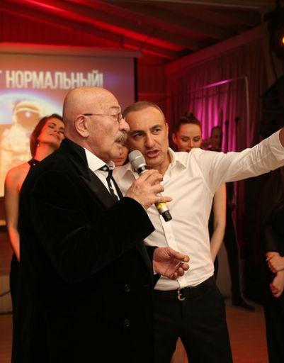 Поздравить артиста приехал и Александр Розенбаум