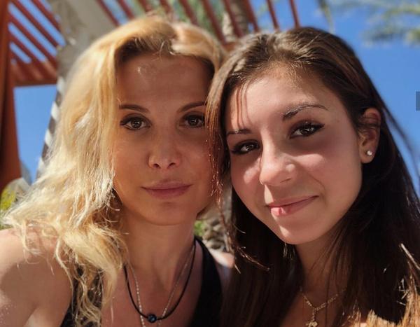 Этери с дочерью Дианой