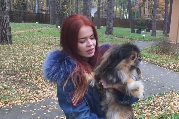 Елена Князева и пес Цезарь