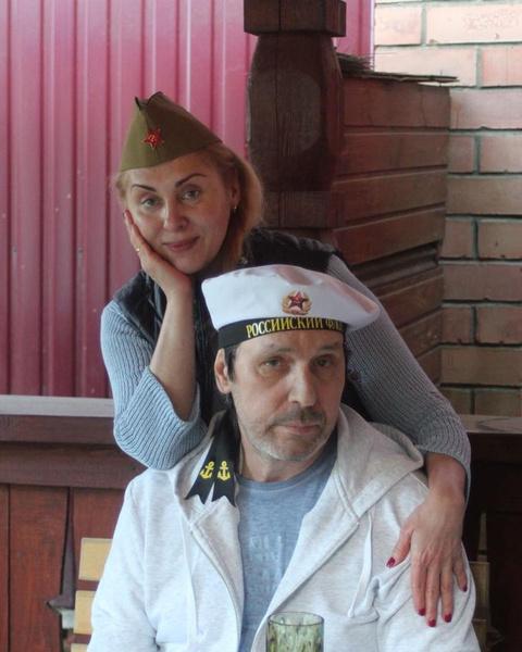 Николай Носков и его жена Марина