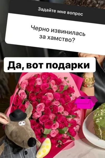Саша извинилась перед Бородиной