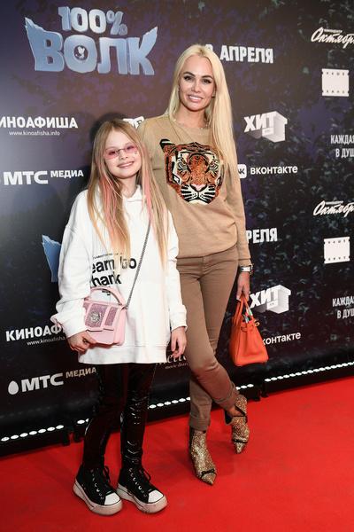 Бывшая жена Виталия Ирина Маирко с дочерью Миланой