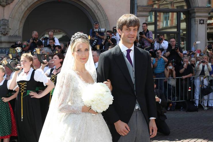Екатерина Малышева и принц Ганноверский