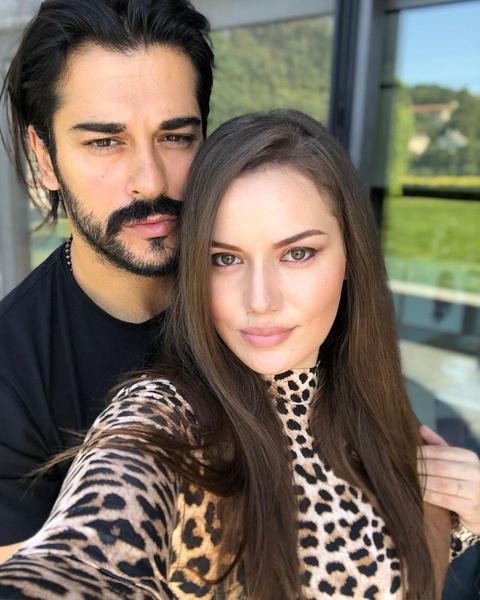 Бурак и Фахрие считаются одной из самых красивых пар Турции