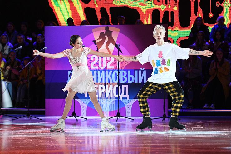 Даня Милохин тоже едва не травмировался на первой же программе