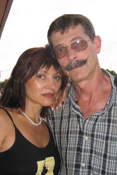Барский с женой Натальей