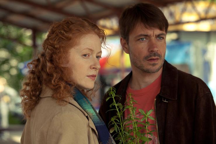 Актриса снималась в сериалах, хотя главной звездой в семье оставался Андрей Панин