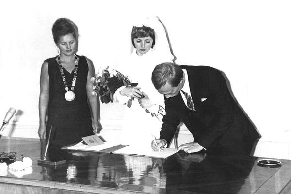 Владимир Владимирович женился в 1983-м