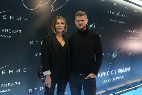 Антонина и Владимир на премьере картины Бондарчука
