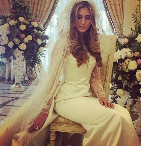 Платье невесты Дианы Бажиевой фирмы Ralph&Russo