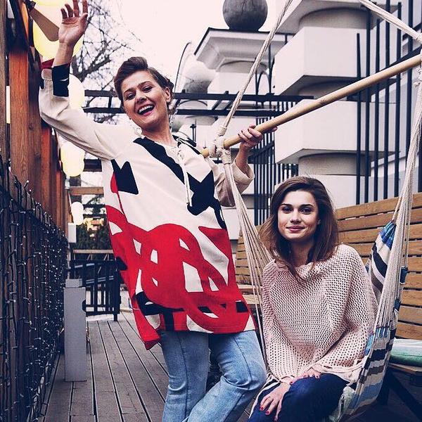 Мария Голубкина с дочерью