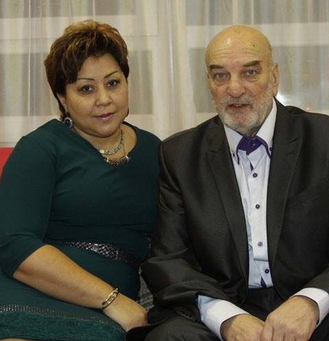 Азима стала третьей и последней женой Алексея Петренко