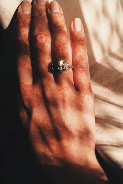 На роскошное кольцо жених Инги Меладзе копил деньги целый год