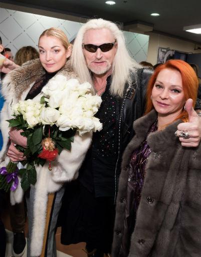 Анастасия Волочкова, Никита Джигурда и Марина Анисина