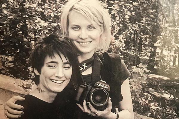 Рената Литвинова и певица Земфира