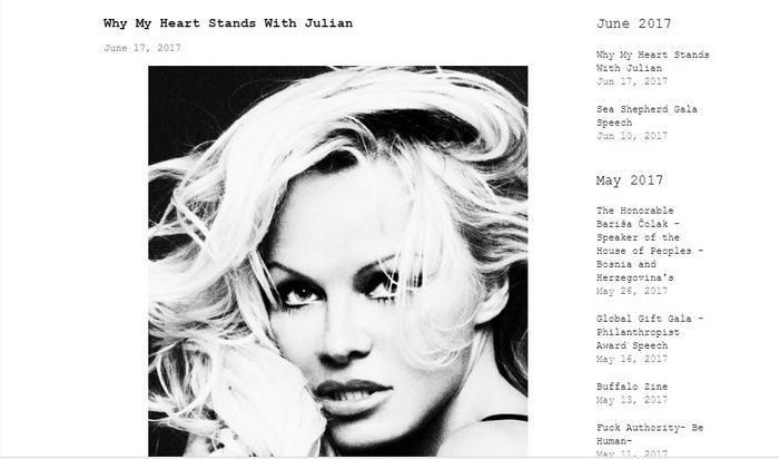 Новости: Памела Андерсон заговорила о сексуальности Джулиана Ассанжа – фото №2
