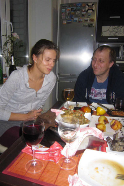 В распоряжении «СтарХита» оказались фотографии Ольга Казаченко с загадочным Дмитрием