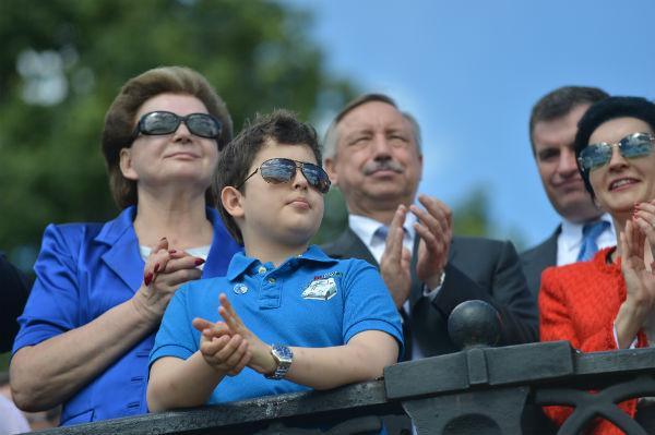 Валентина Терешкова с младшим внуком Андреем