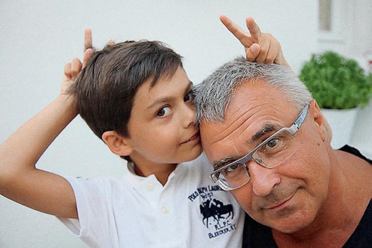 Александр Русинов быстро нашел общий язык с сыном Назимовой