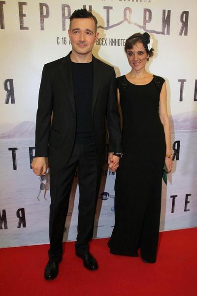Егор Бероев и Ксения Алферова.