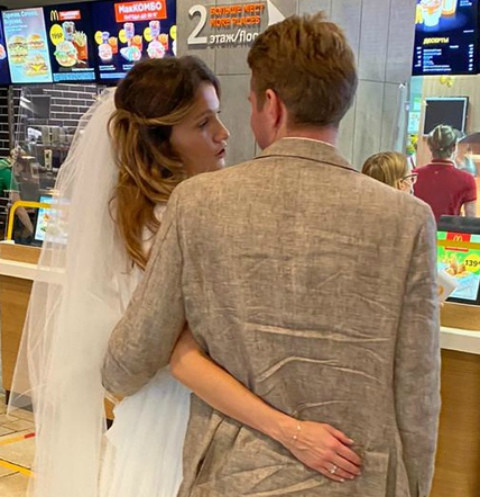 В сентябре Жня вышла замуж во второй раз