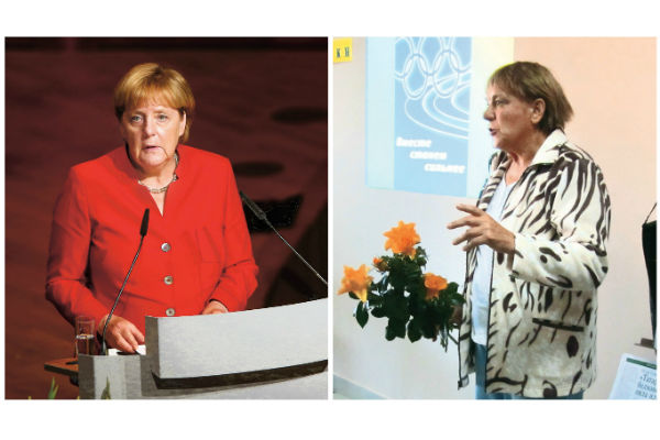 Из-за внешнего сходства с канцлером Германии соседи зовут Чувину Ангелой Меркель