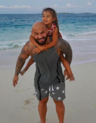 Джиган с дочерью Ариелой