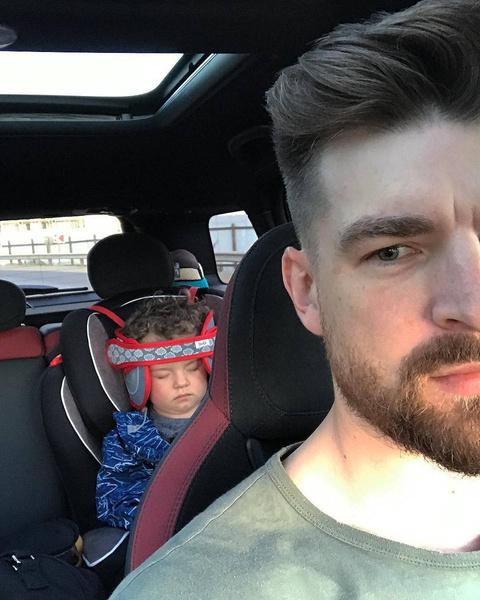 Сергей берет сына на выходные