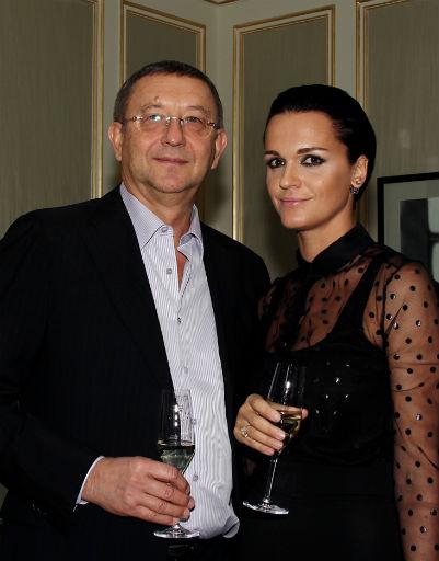 Певица Слава с гражданским мужем