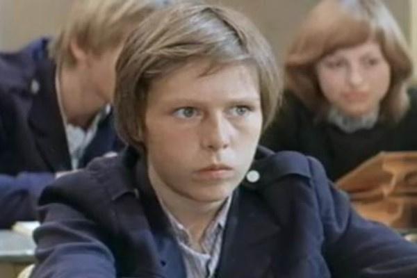 Михаил Ефремов начал сниматься в подростковом возрасте