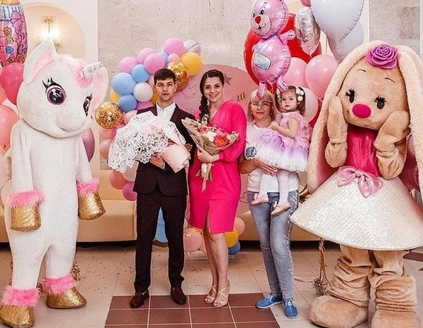 Ольга Рапунцель стала мамой во второй раз