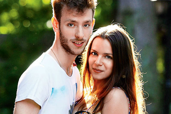 Сын артистки Потап с женой Ангелиной