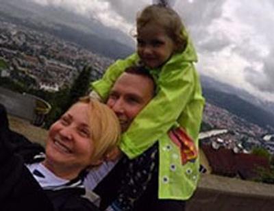 Светлана Пермякова путешествует по Европе в компании бывшего мужа