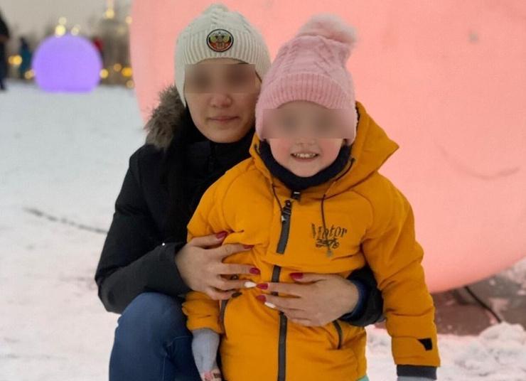 Анна с дочерью Настей