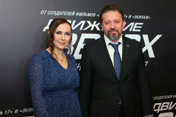 Елена Панова часто сопровождает мужа на премьерах его фильмов
