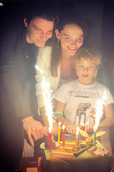 Старший сын Боярской Андрей пошел в школу