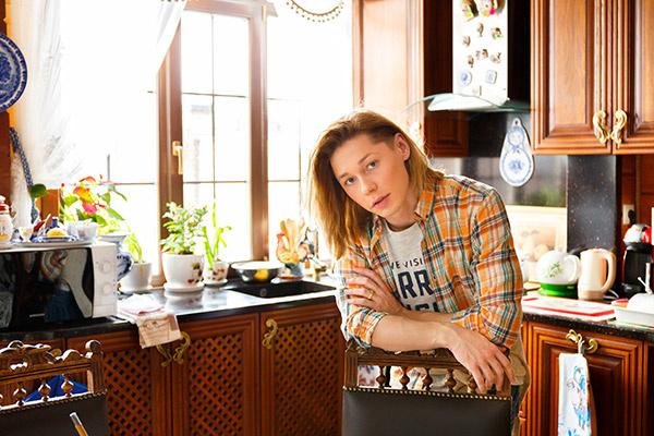 Собираться  за большим   столом на кухне   – традиция   Бикбаевых