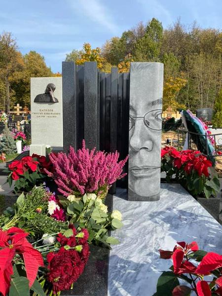 Памятник на могиле Игоря Малашенко