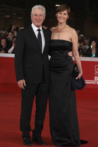 Ричард Гир с первой женой Кэрри Лоуэлл