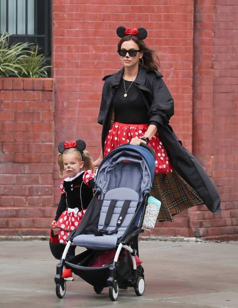 Ирина любит проводить время с дочерью