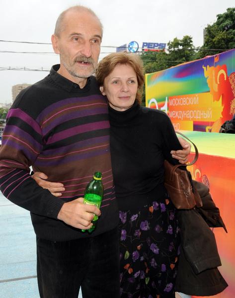 Петр Мамонов с женой Ольгой